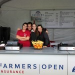 Farmers Insurance booth