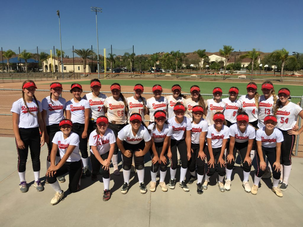 12u and 18u teams septermber 2018