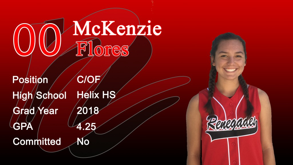16U McKenzie Flores