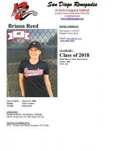 Briana Profile