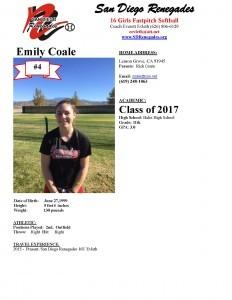 Emily Coale Profile